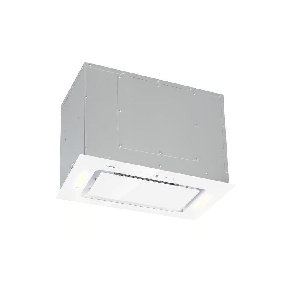 Klarstein Klarstein Hektor Hotte encastrable 52cm Extraction 530 m³/h LED - blanche Klarstein