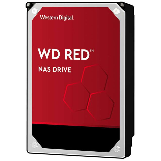 "Western Digital - WD RED 4 To - 3,5"" SATA III 6 Go/s - Cache 256 Mo - Rouge Western Digital   - Disque Dur interne"