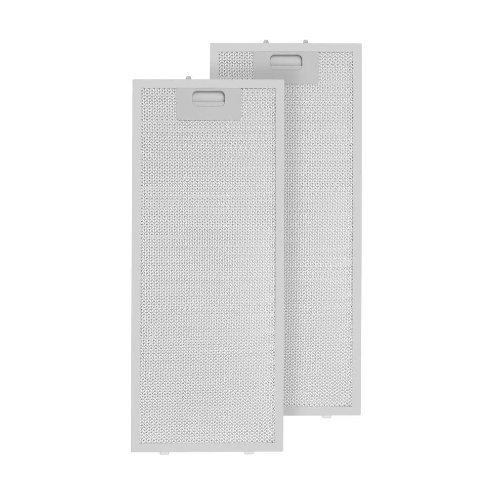 Klarstein Klarstein Set 2 filtres à graisse en aluminium pour hottes murales aspirantes Lorea 56 x 18,5cm - aluminium