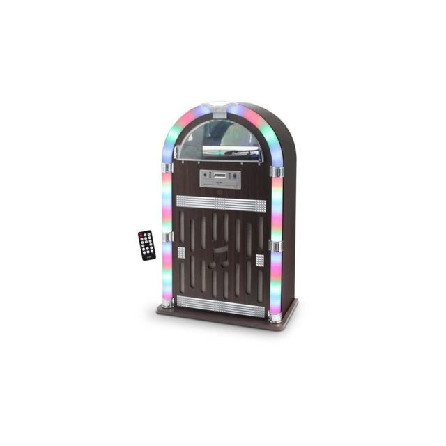Dealstore - INOVALLEY RETRO32 JukeBox Vinyle / CD / FM Bluetooth - Matériel hifi