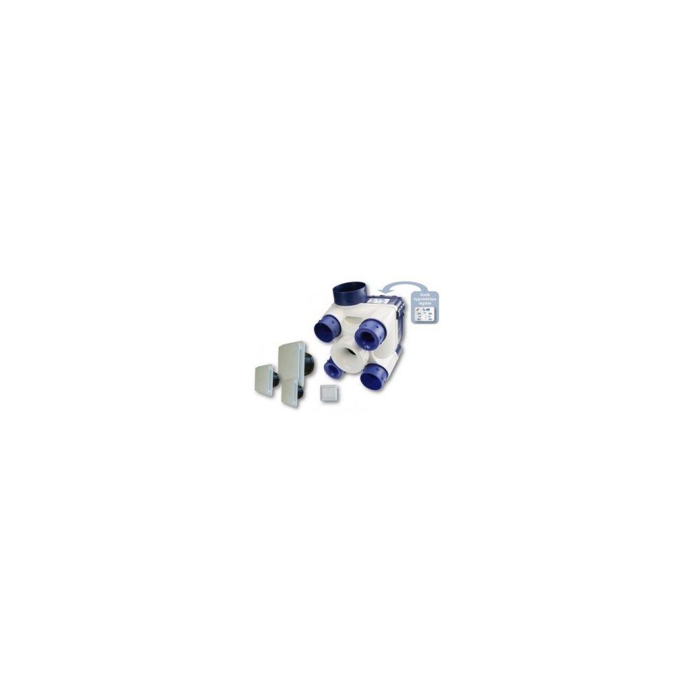 Unelvent Kit VMC Deco DHU K - Simple flux + sonde hygrométrique