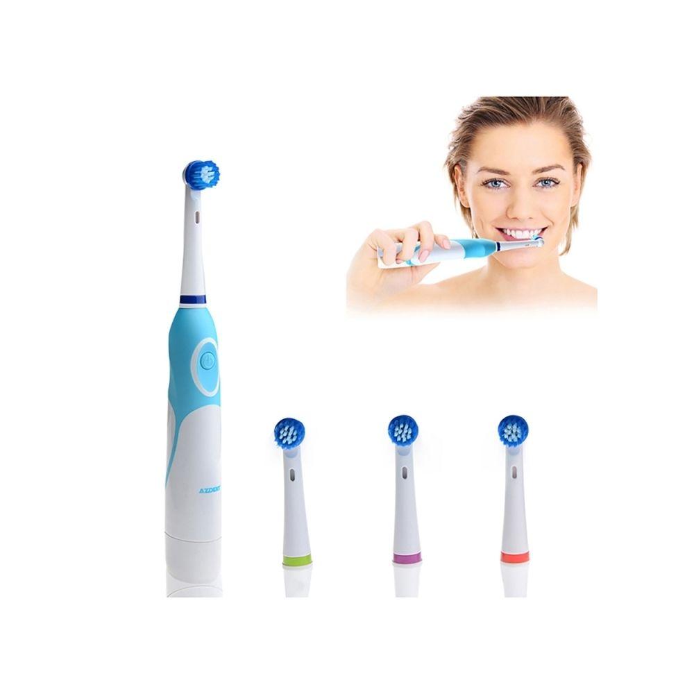 Wewoo AZDENT brosse à dents électrique rotative à 4 têtes de