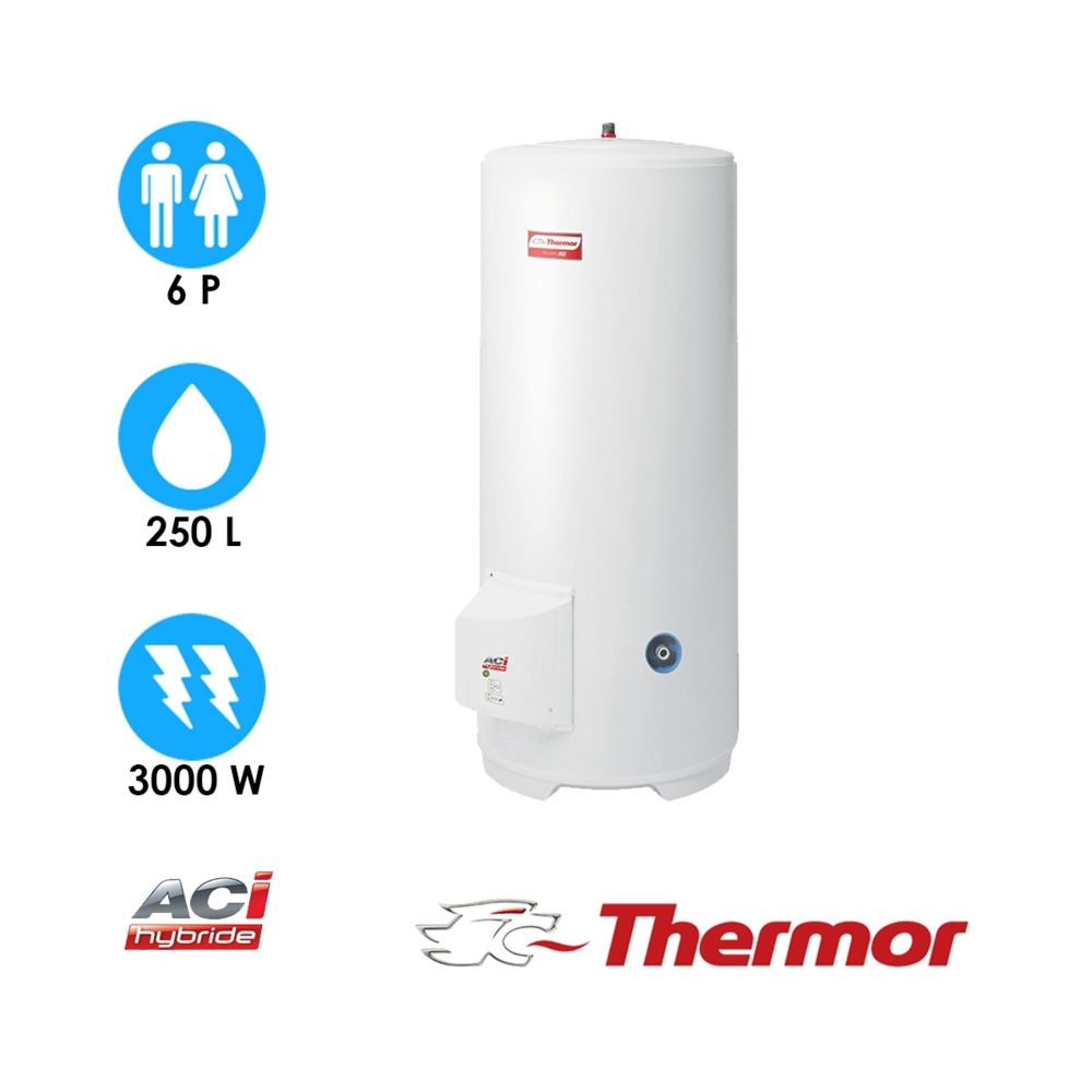Thermor Chauffe-eau duralis - 250l - vertical stable - thermor