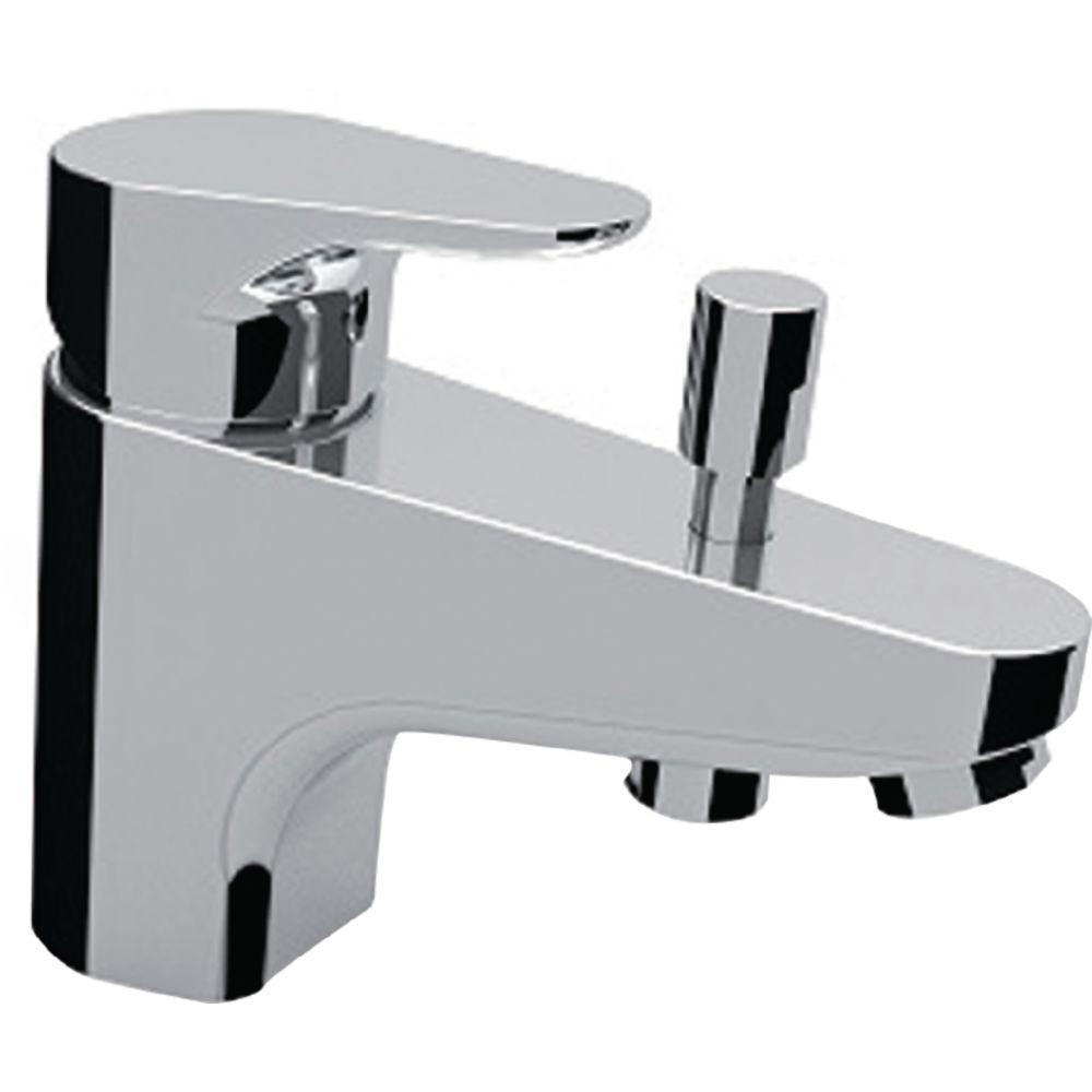 Alterna mitigeur bain / douche - alterna concerto 4 - monotrou - cartouche céramique avec point dur - manette métal