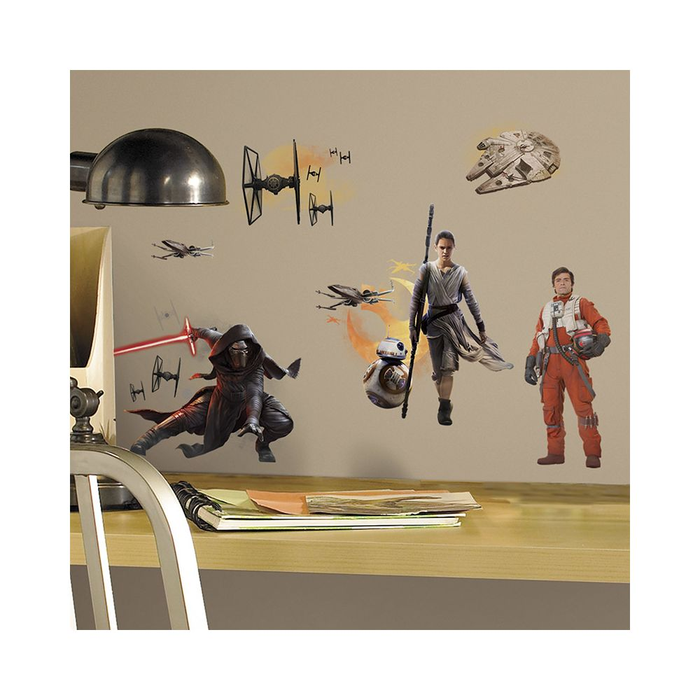 Mon Beau Tapis STAR WARS EPISODE VII - Stickers repositionnables géants Star Wars Episode VII