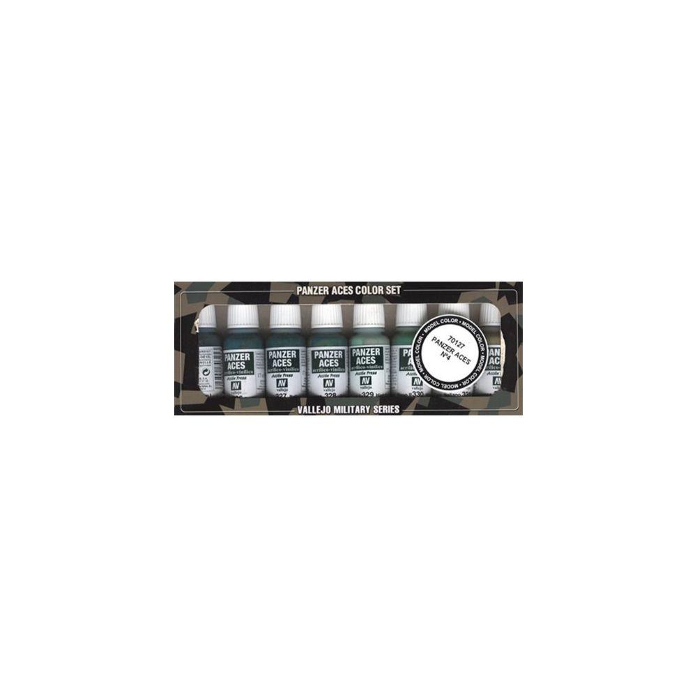 Vallejo Vallejo Panzer Aces No #4 Paint Set 17ml
