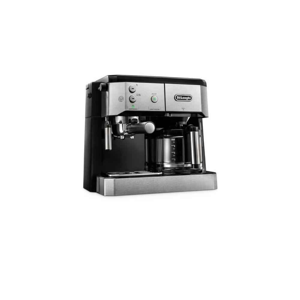 Delonghi machine à expresso combiné cafetière 1750W gris noir