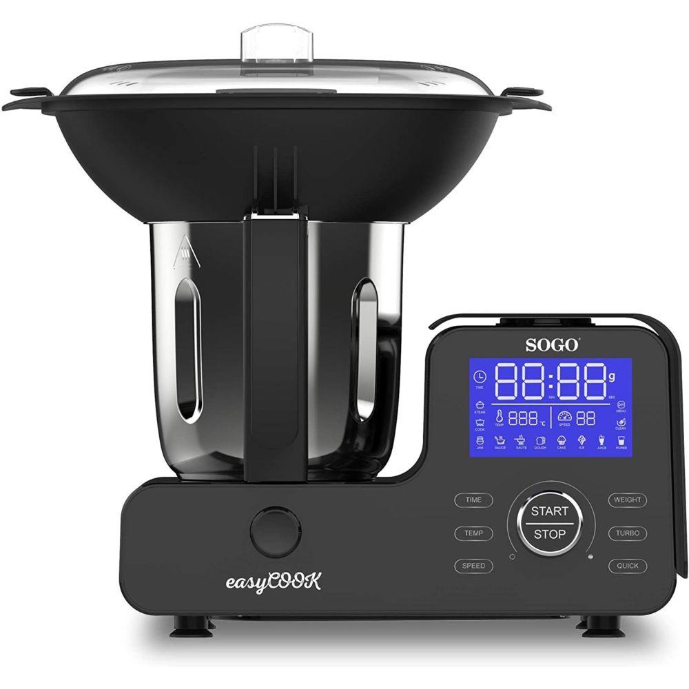 Sogo Robot de cuisine multifonction SOGO Easy Cook BAT-SS-14555 1500 W, 2 litres, 11 vitesses