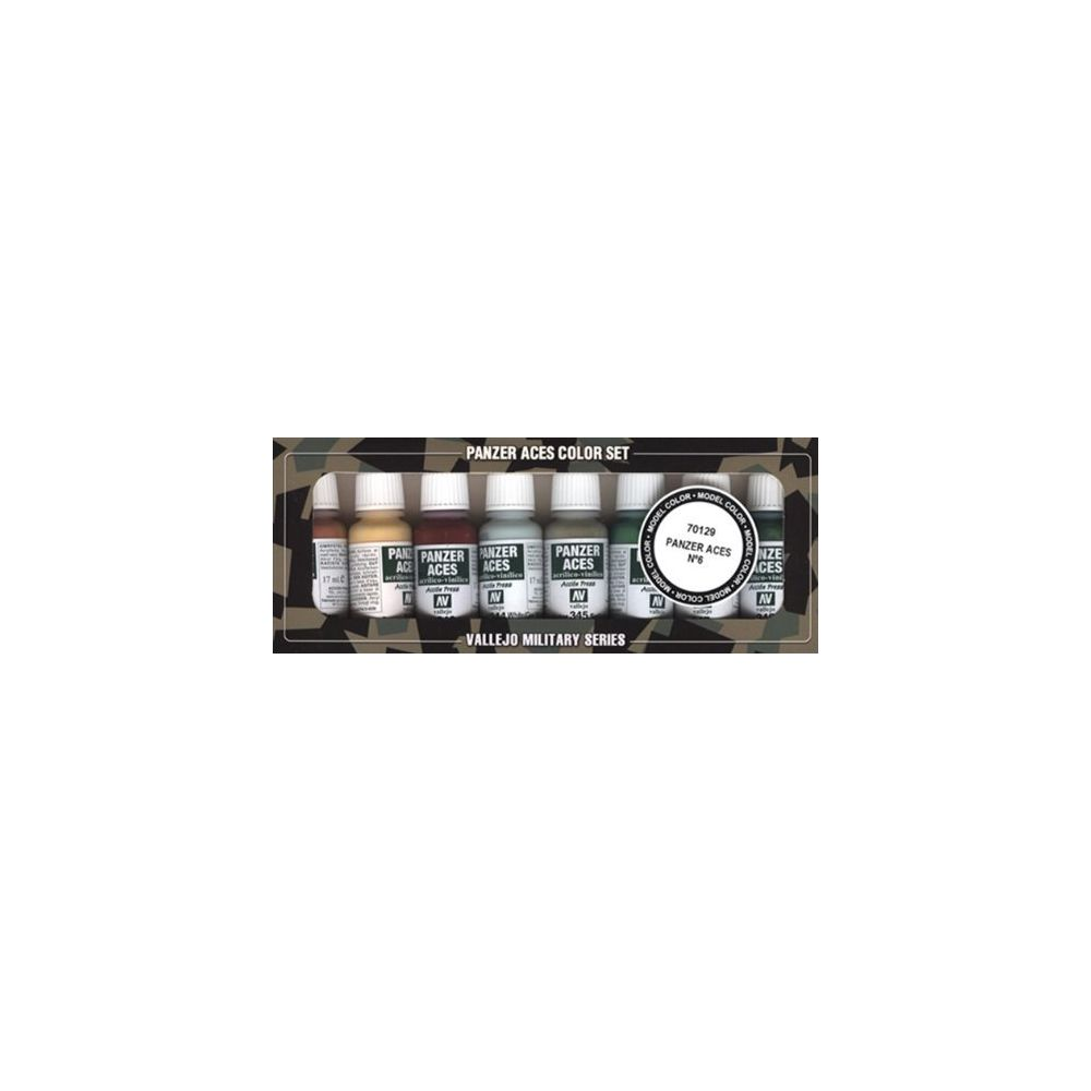 Vallejo Vallejo Panzer Aces No #6 Paint Set 17ml