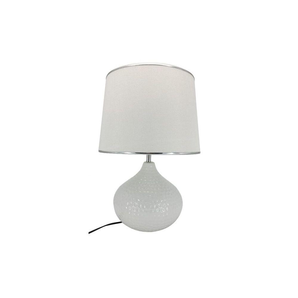 Chloe Design Lampe à poser SIEFFRE - blanc