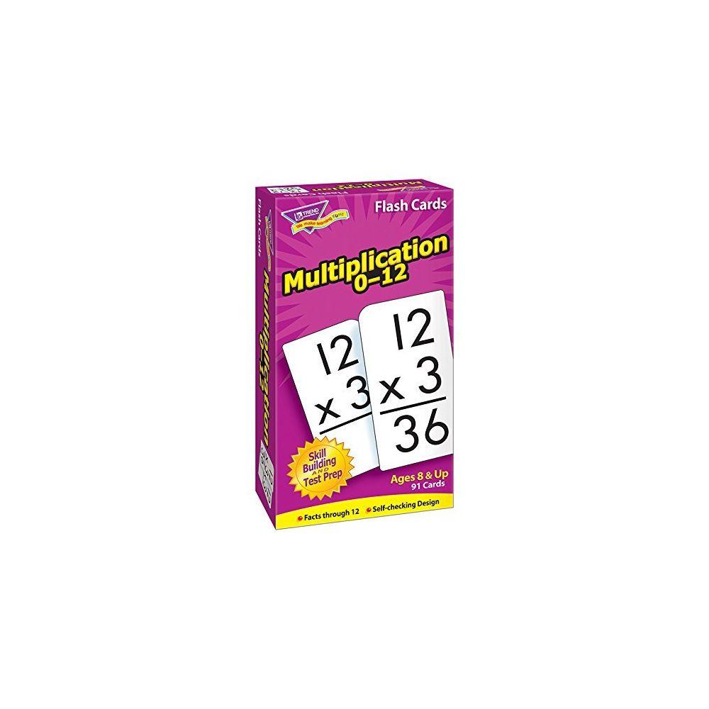 Trend Multiplication 0-12 Flash Cards