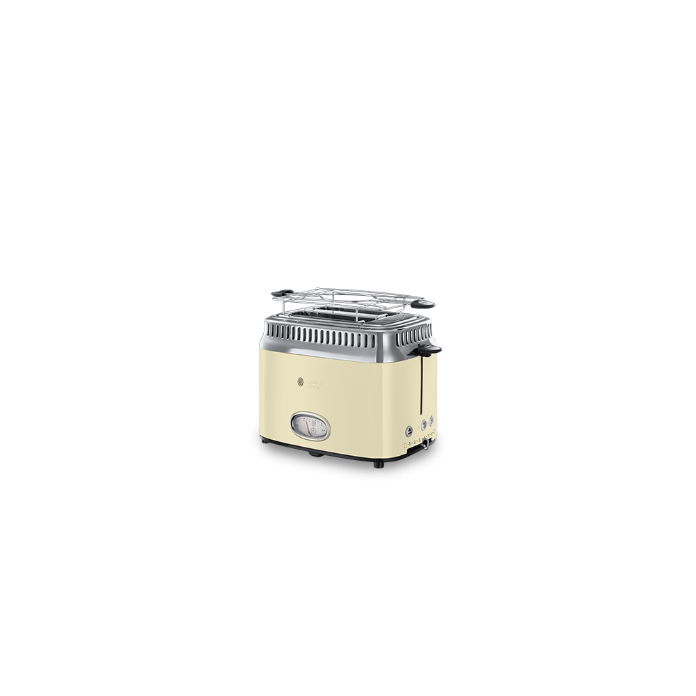 Russell Hobbs Toaster Retro crème - 2 fentes