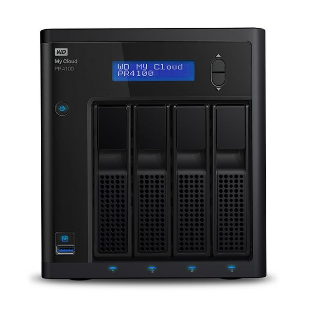 Western Digital -My Cloud PR4100 WD 8 To Western Digital  - Reseaux Western Digital