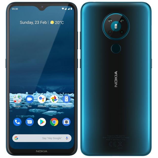 Nokia - 5.3 - 64 Go - Cyan - Smartphone Android 64 go