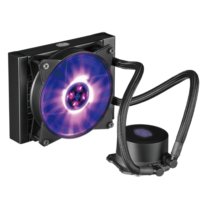 Cooler Master - MasterLiquid ML 120L RGB - Bonnes affaires Watercooling