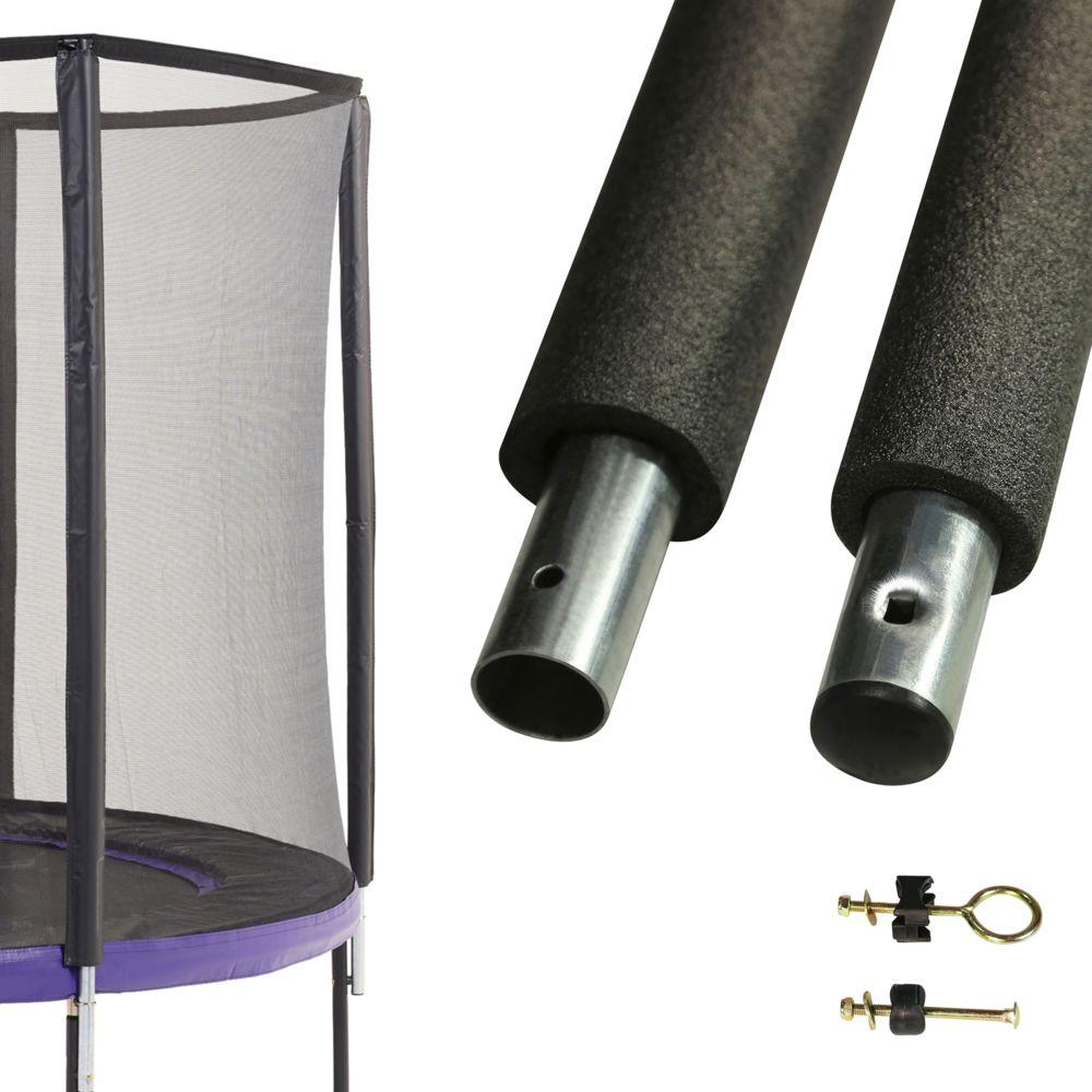 Kangui Un poteau de filet de sécurité Ø32mm pour trampolines (longeur 212 cm)