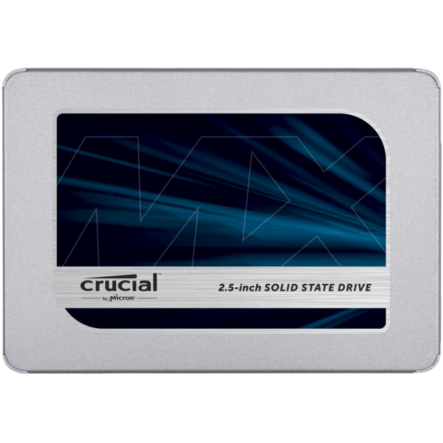 Crucial - Disque SSD MX500 500 Go 2,5'' 7mm Crucial Crucial   - SSD Interne Ssd interne