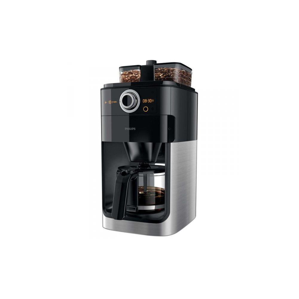 Philips Cafetière Filtre avec Broyeur Intégré Grind & Brew HD7769/00 - Noir