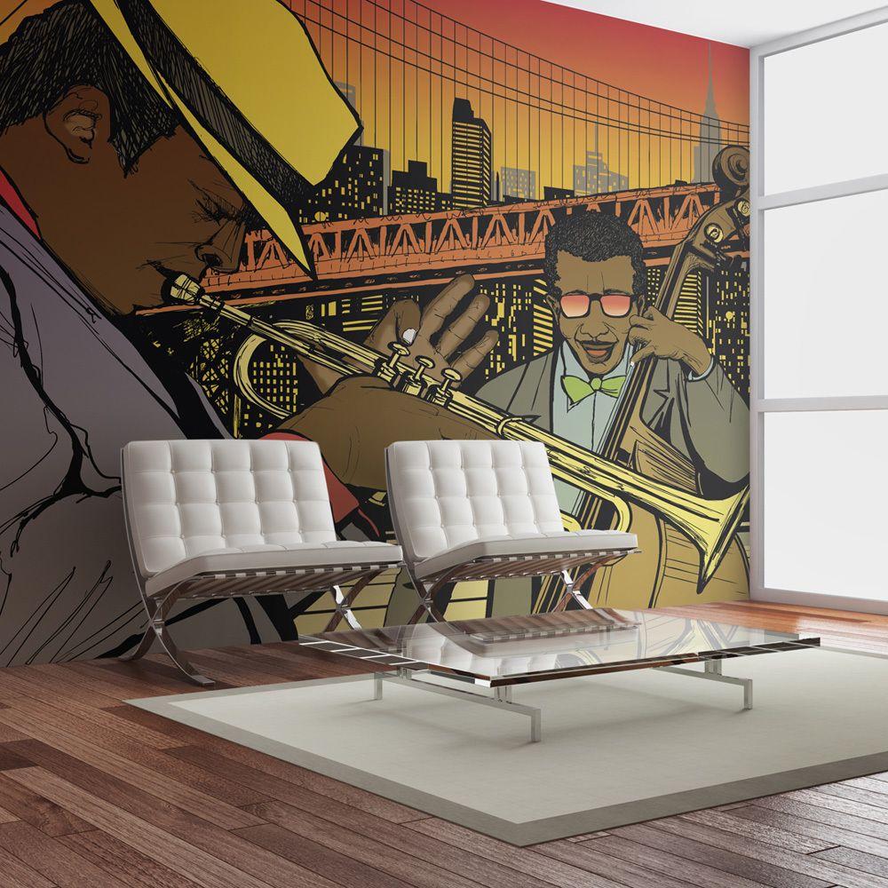 Bimago Papier peint   Mélodies de New York   200x154    