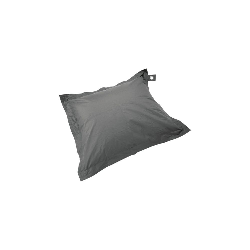 Oviala Housse vide pouf XL imperméable - Gris