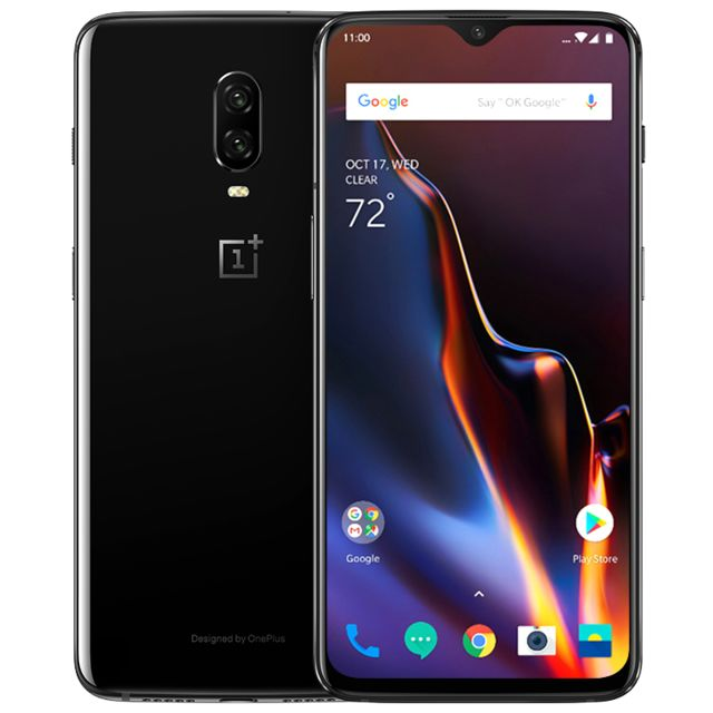 Oneplus - 6T - 6 / 128 Go - Mirror Black - Smartphone Android Oneplus 6t