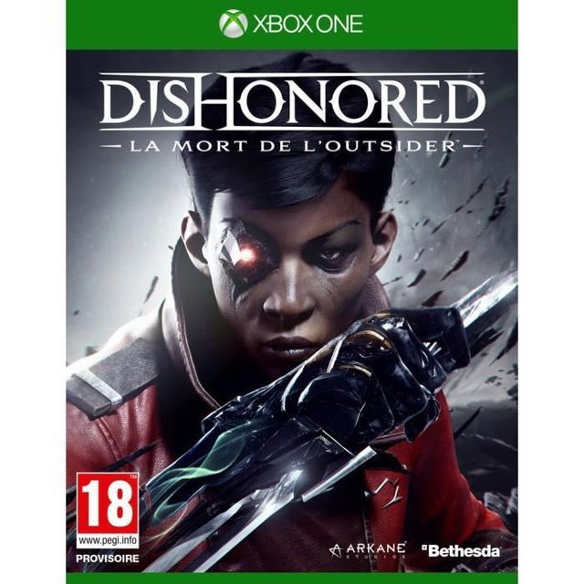 Bethesda -Dishonored 2 : Mort l Outsider - XBOX ONE Bethesda  - Jeux Xbox One Bethesda