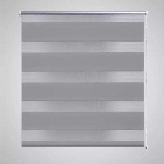 store enrouleur tamisant 60 x 120 cm gris gris