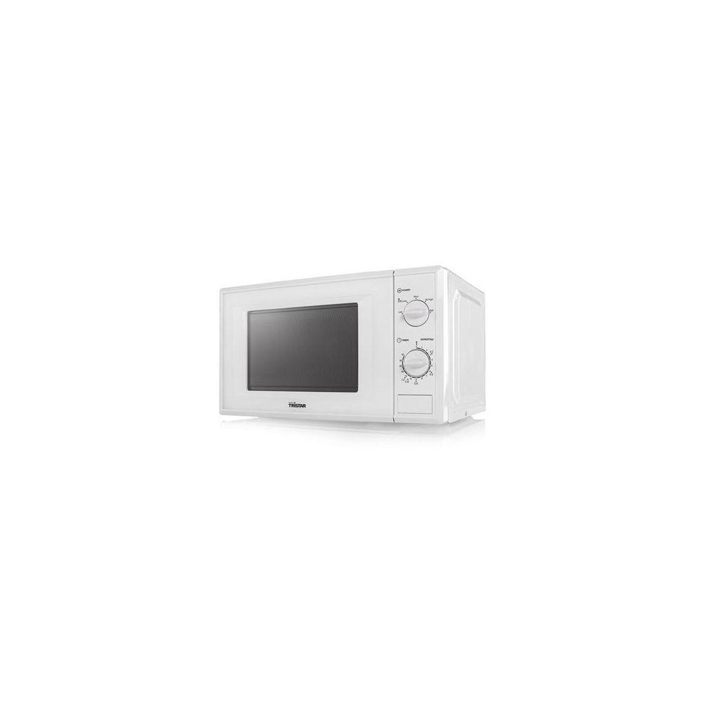 Tristar four a micro ondes de 20L 700W blanc