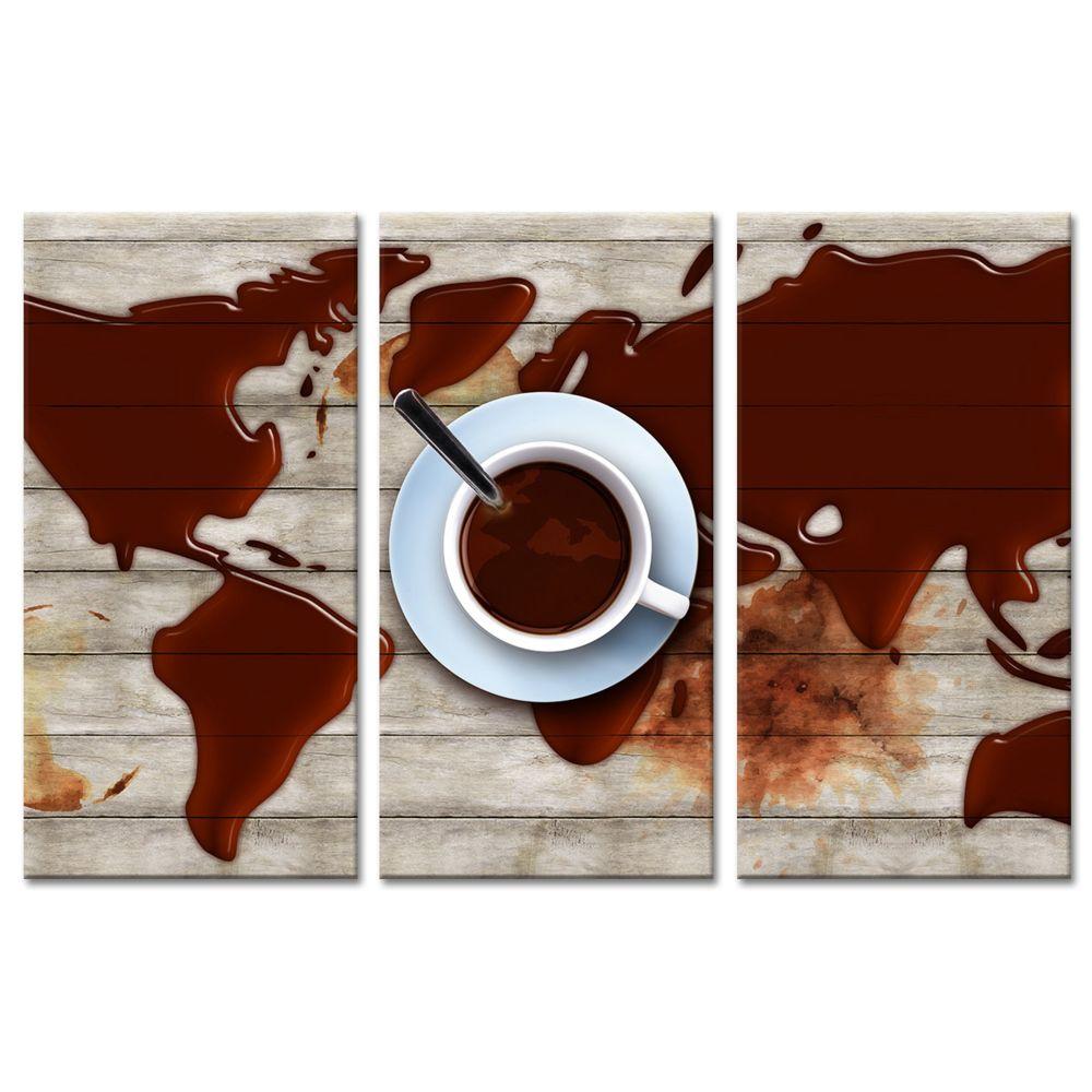 Declina Tableau toile déco murale Café - Boutique de toile imprimée