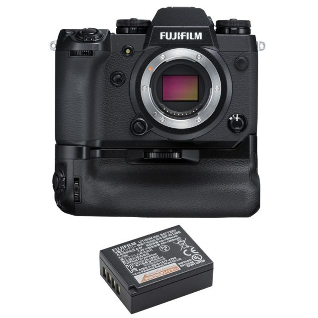 Fujifilm - PACK X-H1 + Booster grip VPB-XH1 + Batterie NP-W126S - Pack appareil photo