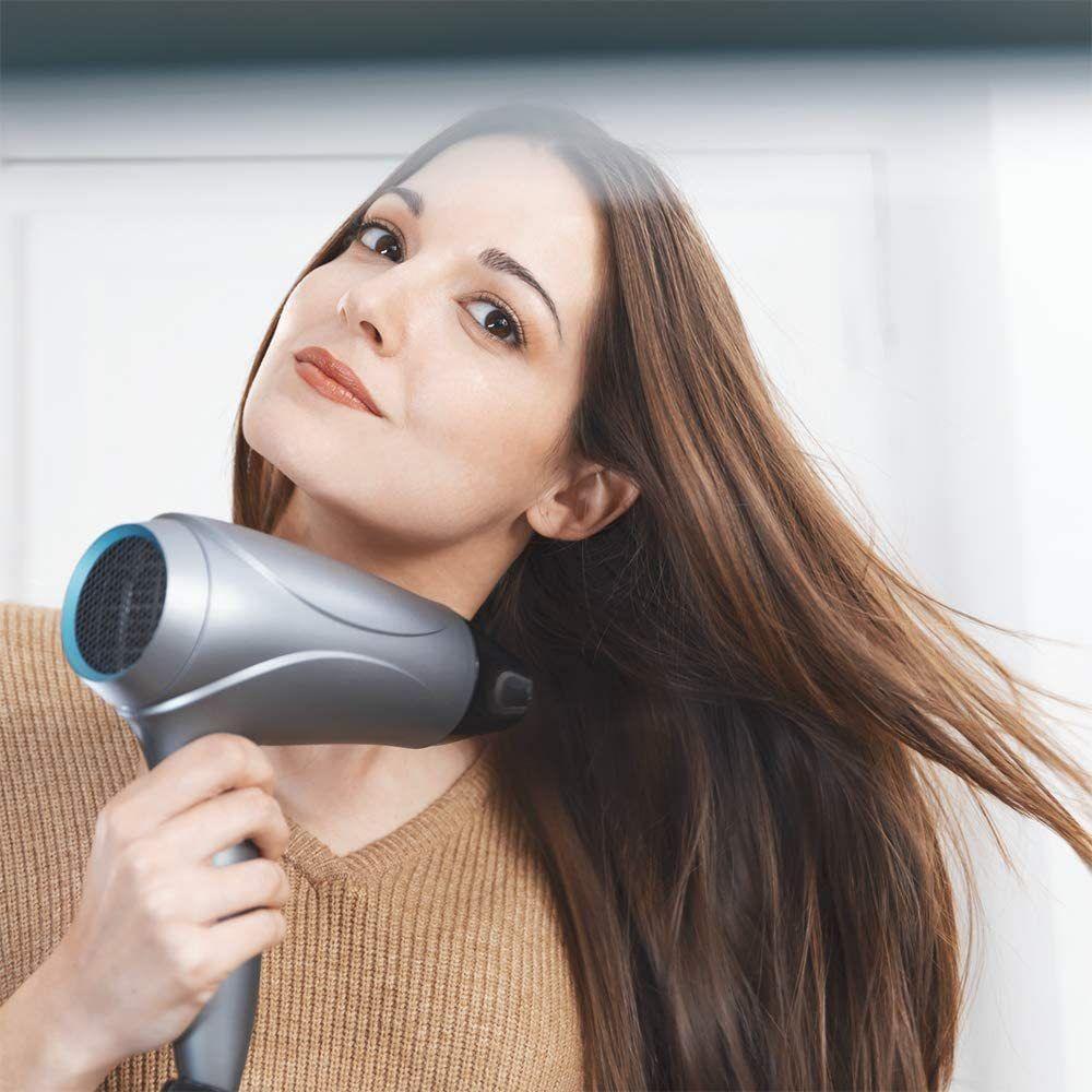 Cecotec Sèche Cheveux Ionique compact 2400W noir gris