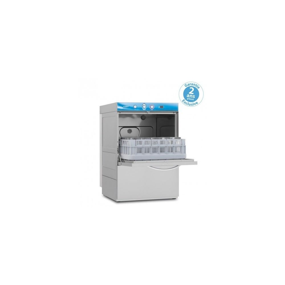 Materiel Chr Pro Lave Verre Bar avec adoucisseur - affichage digital - panier 390 x 390 mm - Elettrobar - 220V monophase