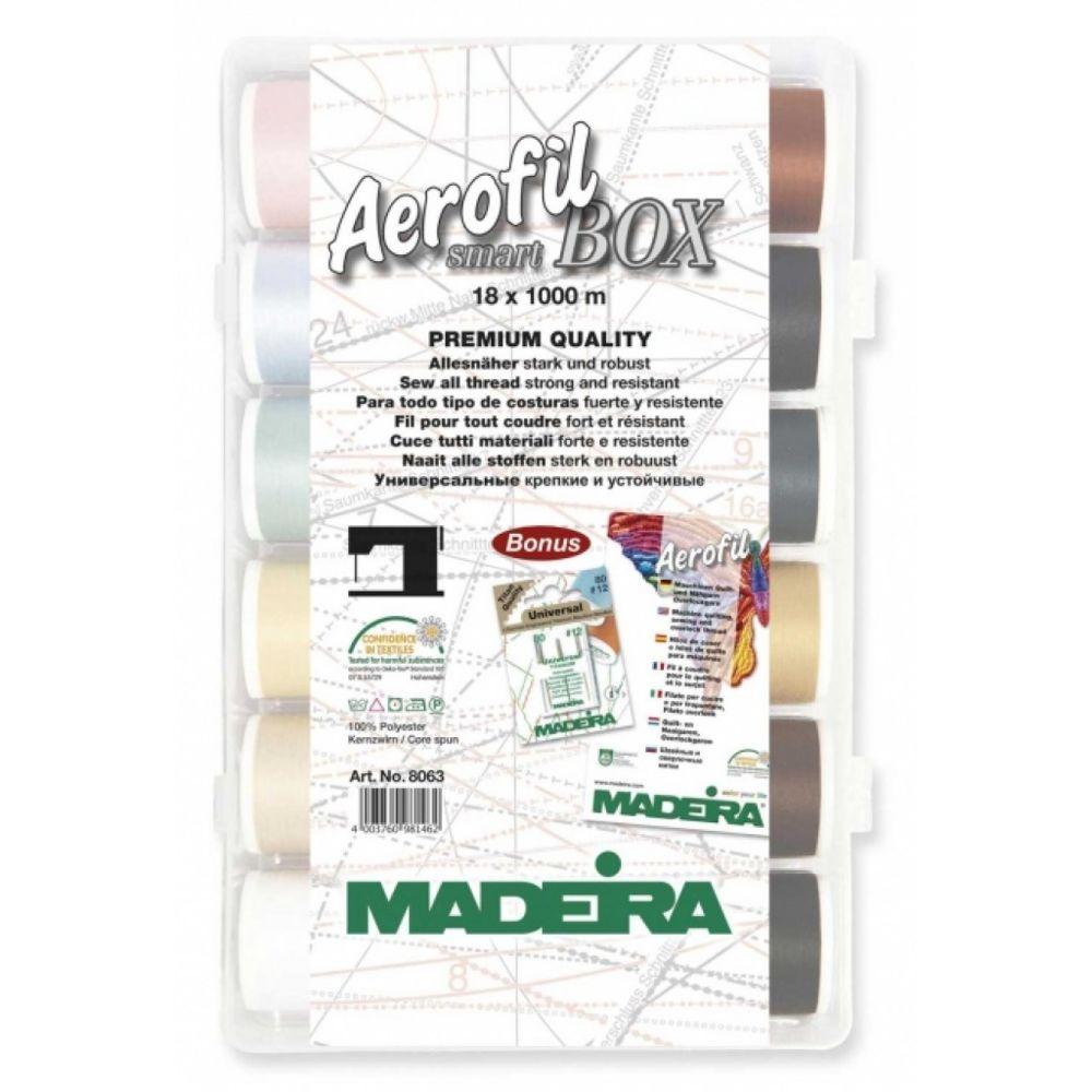 Madeira Madeira Smart Box fils à coudre Aerofil 8063