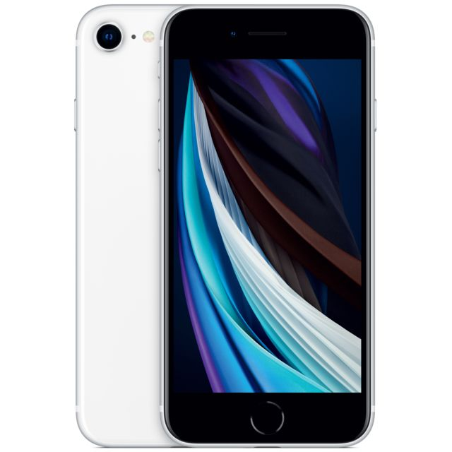 Apple - iPhone SE - 128 Go - Blanc - Smartphone reconditionné