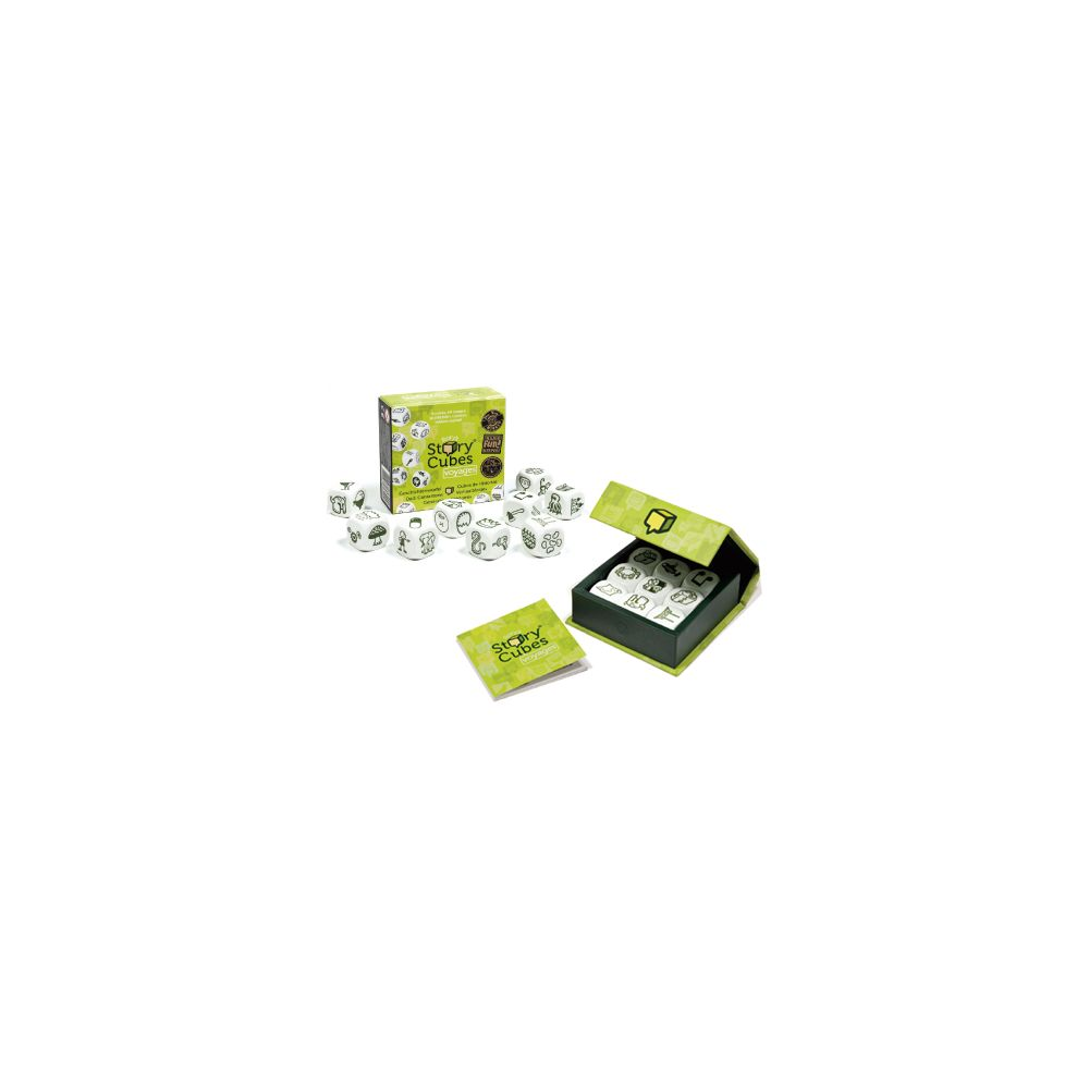 Gigamic Jeux de société - Story Cubes Voyage (Vert)