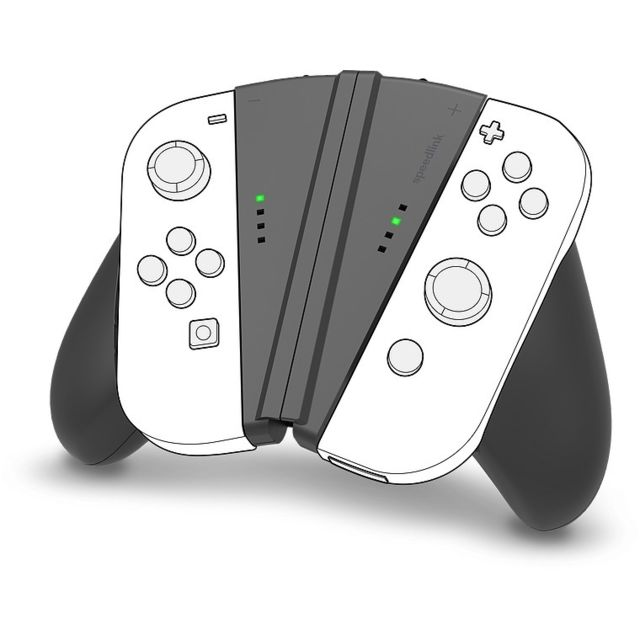 Speedlink - Support ergonomique 2 en 1 pour Joy-Con Switch - Speedlink