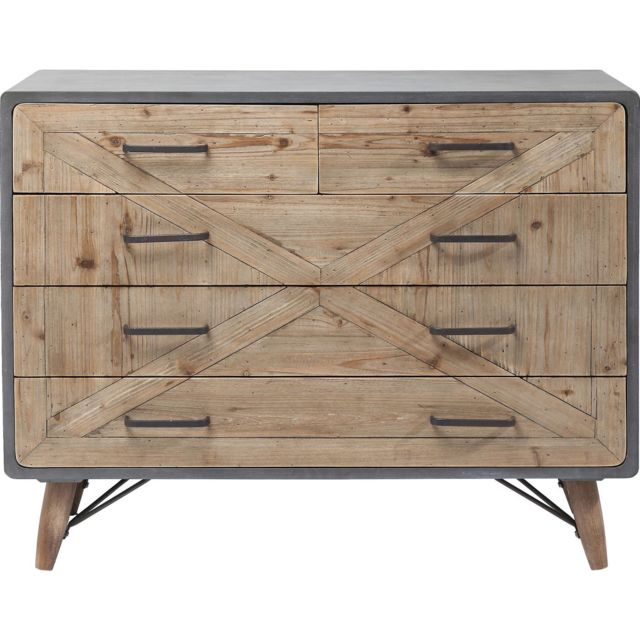 Karedesign - Commode X Factory 5 tiroirs Kare Design - Commode