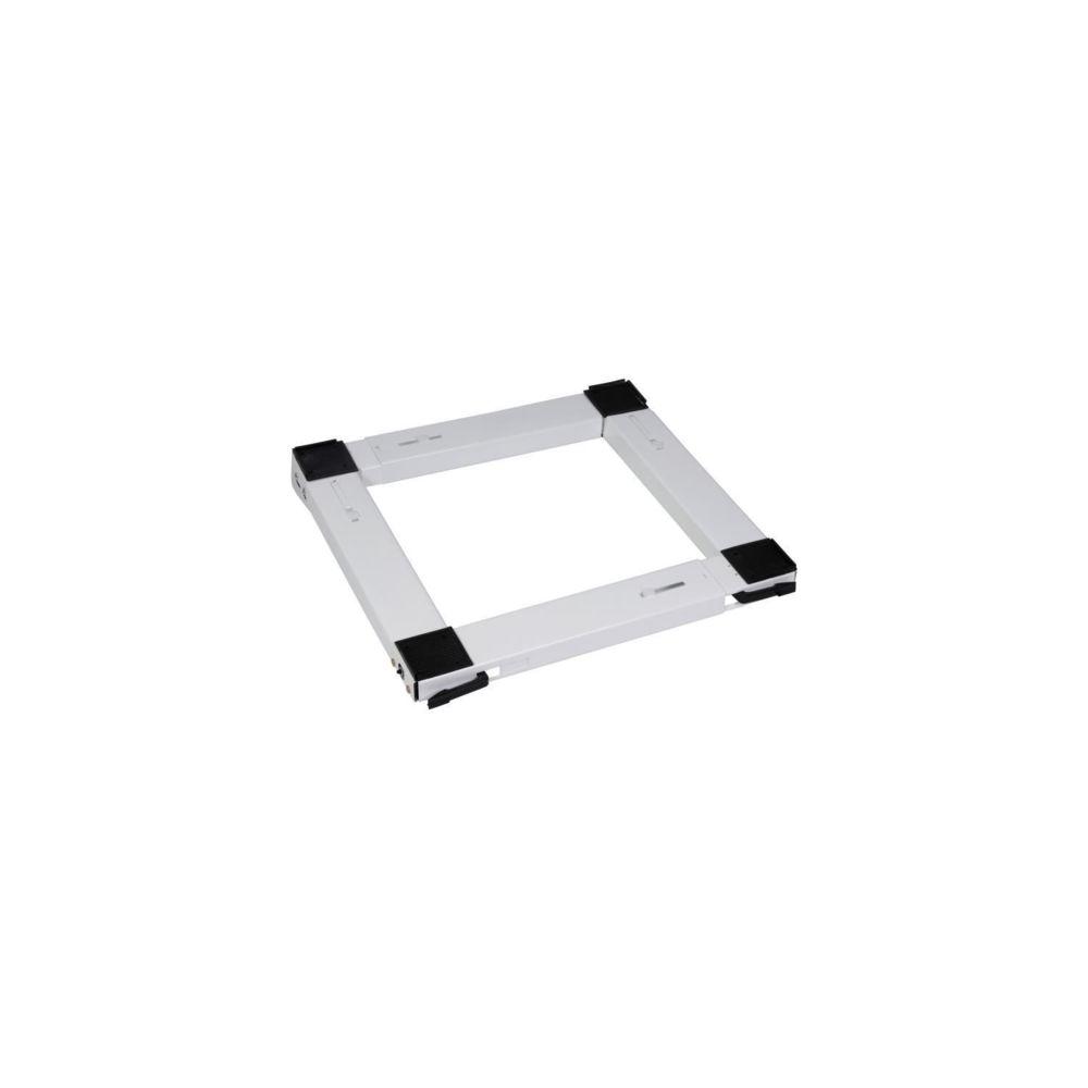 Meliconi MELICONI 00682 Support metallique mobile universel pour appareil électroménager-Blanc