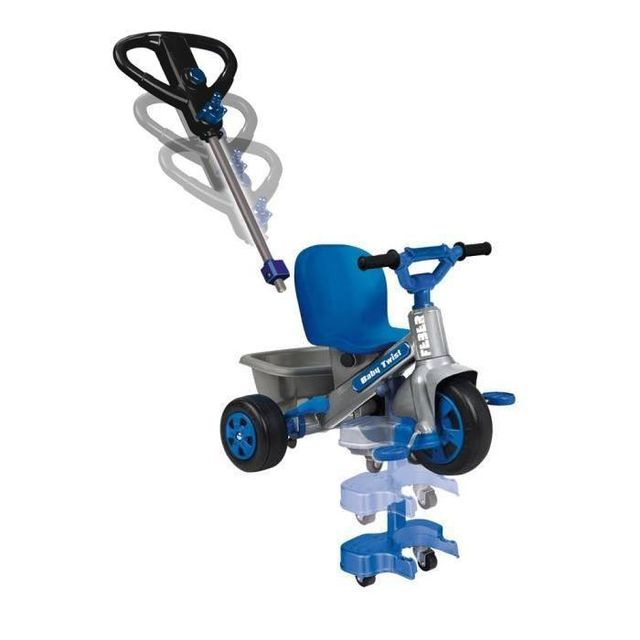 Tricycle Tricycle Baby twist 360 bleu - 800009780