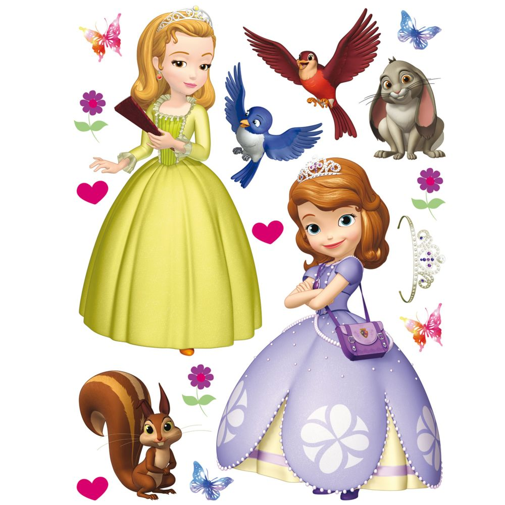 Bebe Gavroche Stickers géant Princesse Sofia Disney