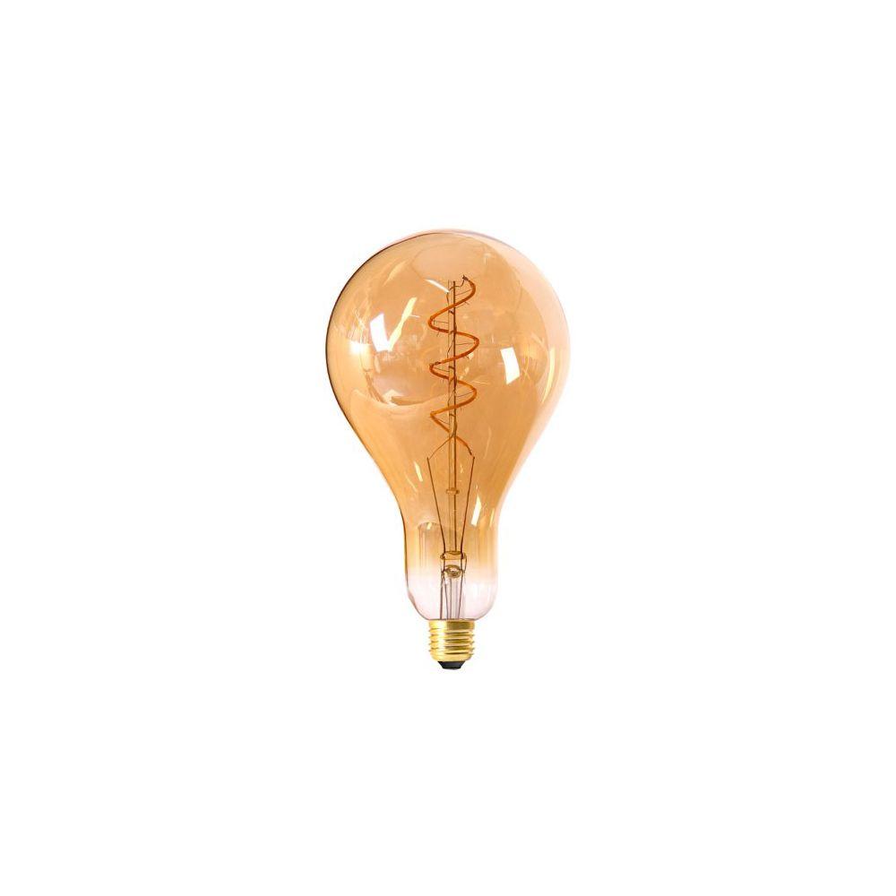 Girard Sudron Ampoule Géante Filament LED TWISTED 240mm 4W E27 2000K 200Lm Dim. Amb.