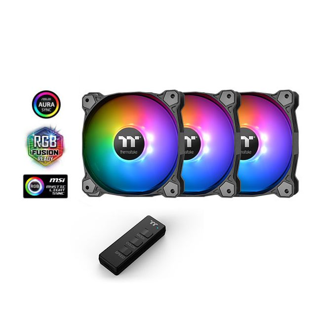 Thermaltake - Pure 12 ARGB Sync Case Fan 3 Pack - Personnalisation du PC
