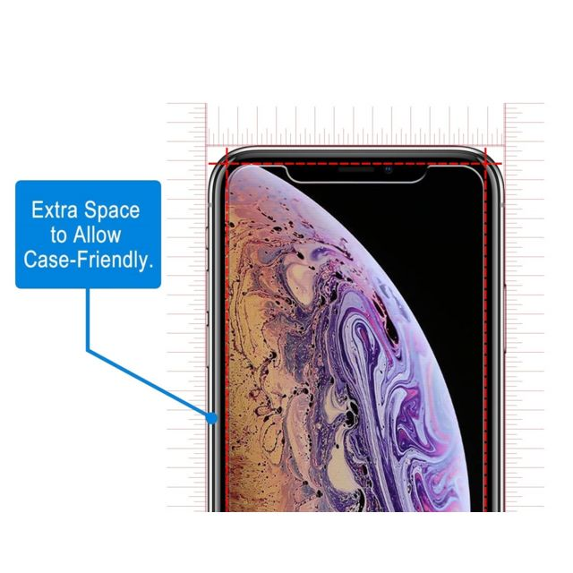 Phonillico Verre Trempe pour Apple iPhone 11 PRO MAX [Pack 2] Film Vitre Protection Ecran Ultra Resistant [Phonillico®]