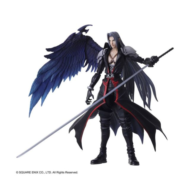 Square-Enix - Final Fantasy VII - Figurine Bring Arts Sephiroth Another Form Ver. 18 cm - Figurines Square-Enix