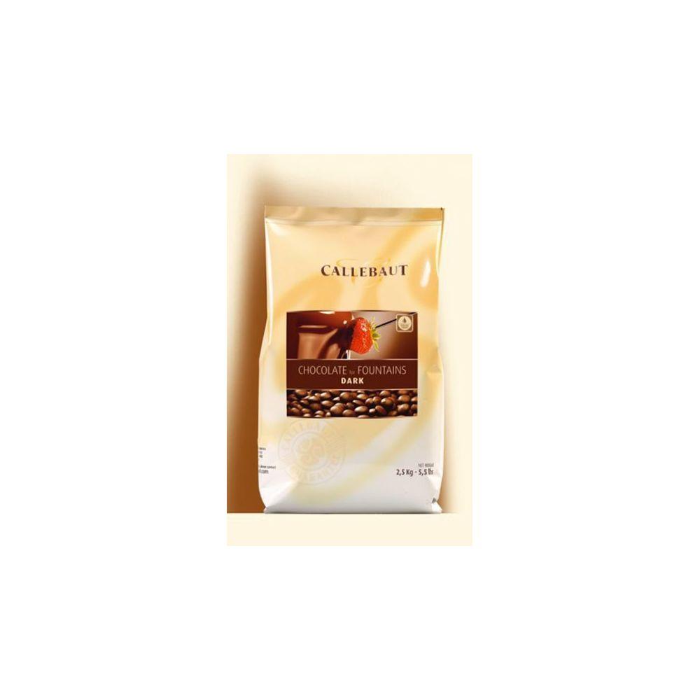 Beneo Callebaut Chocolat Noir pour les fontaines 2,5 kg