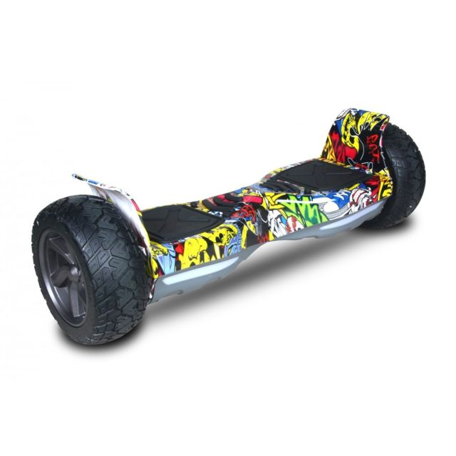 Air Rise - HOVERBOARD HUMMER Hip Pop TOUT TERRAIN BLUETOOTH+ SAC+ TÉLÉCOMMANDE - Gyropode, Hoverboard