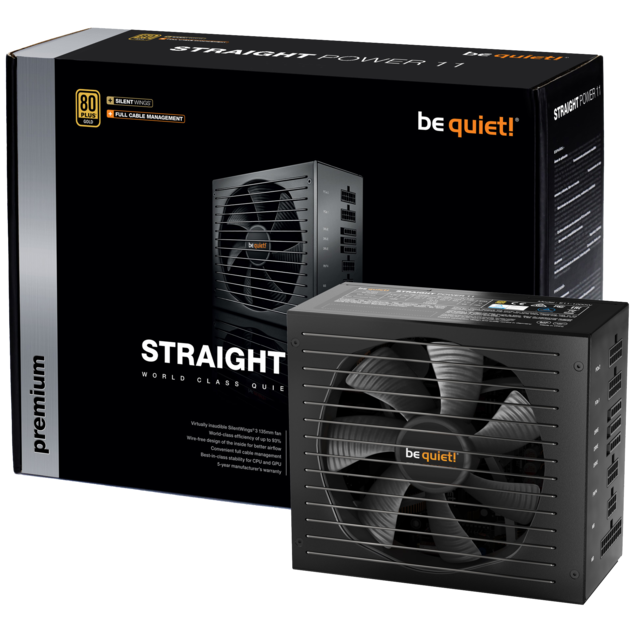 Be Quiet - STRAIGHT POWER 11 650W - 80 Plus Gold - Alimentation non modulaire