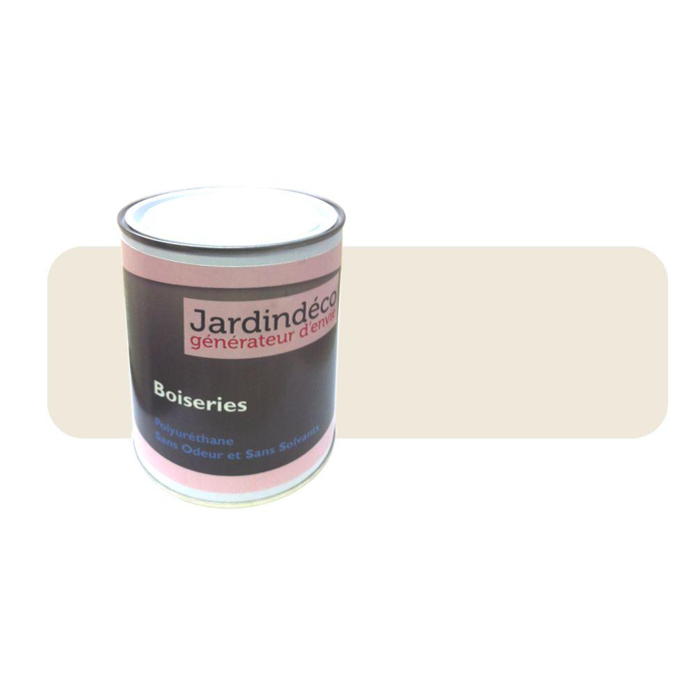 Bouchard Peintures Peinture crème pour meuble en bois brut 1 litre