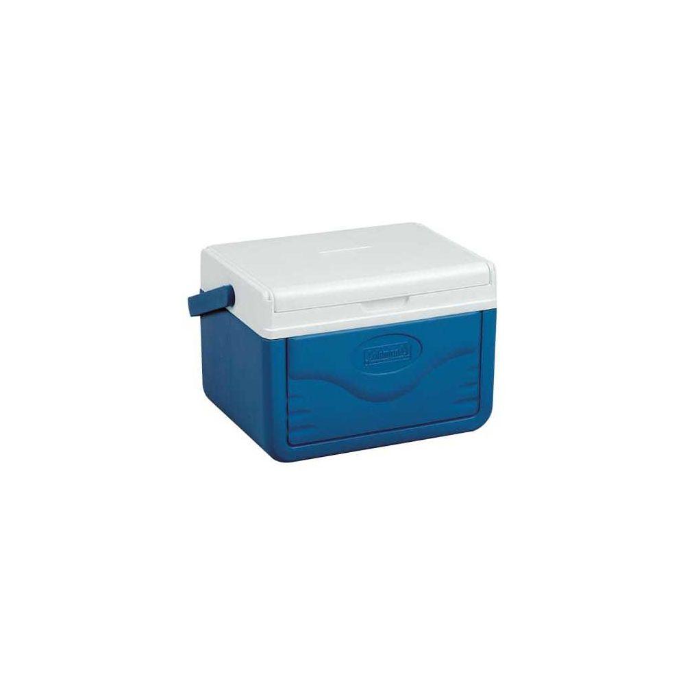 Coleman Glacière portable Coleman 5QT 4,7L bleu blanc