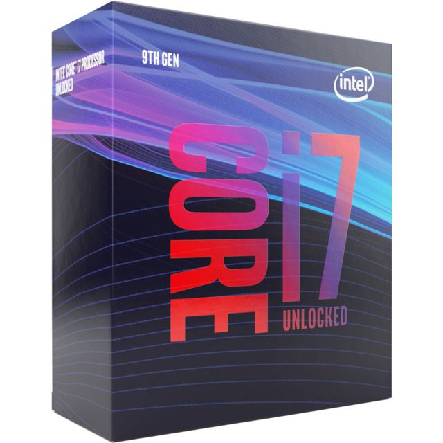 Intel - Core i7 9700K - 3,6/4,9 GHz + Vengeance LPX 16 Go (2 x 8 Go) - DDR4 3200 MHz Cas 16  + Intel Z390 GAMING PRO CARBON - ATX - Kit d'évolution Intel